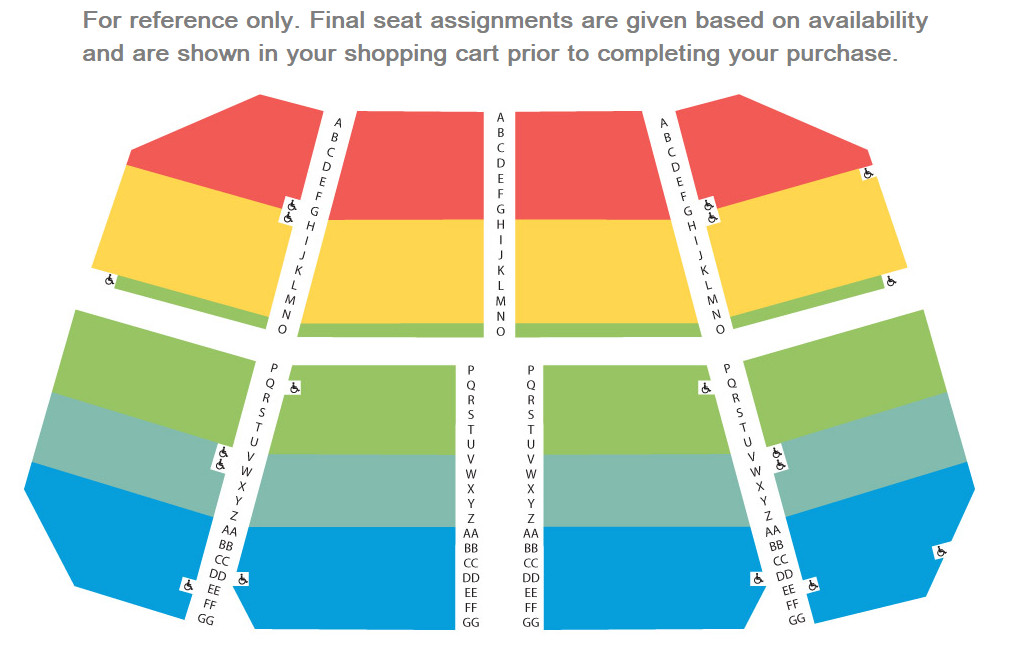 Concerts Seating Chart