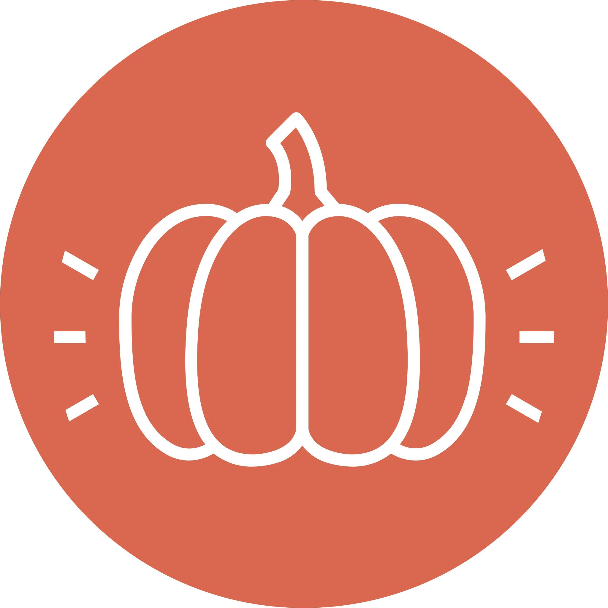 Glowing Pumpkin Displays